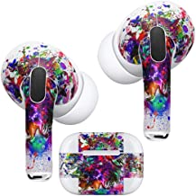 Airpods Pro Skin + Case Skin Apple Airpods Pro Skin Airpods StickerStylish Covers for Protection & Customization Compatible with AirPodsPro 012273 paint colorful bird