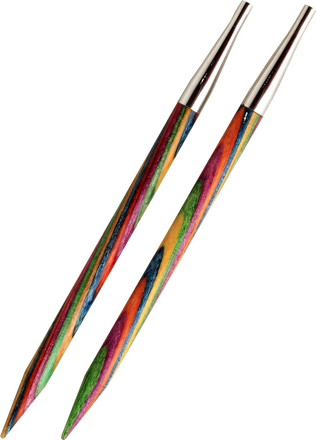 KnitPro 5 mm Symfonie Interchangeable Normal Circular Needles, Multi-Color