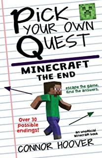 Pick Your Own Quest: Minecraft The End (Volume 4)