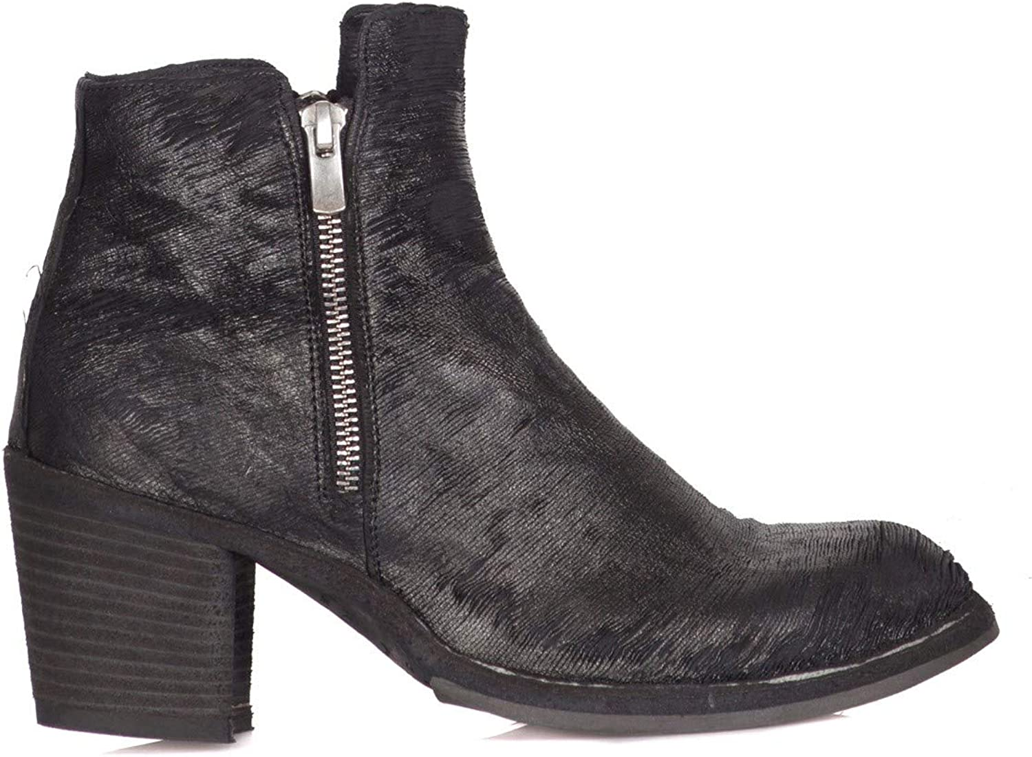 OFFICINE CREATIVE - Stiefeletten Damen Schwarz Schwarz Schwarz OCDAGNE013FULI1D1 Fall Winter 2018-19 - Made in   47b58b
