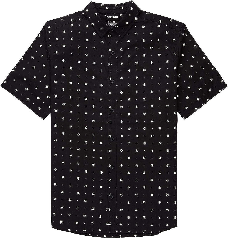 Burton Opening large release sale Men's Shabooya Camp Short Shirt San Diego Mall Sleeve