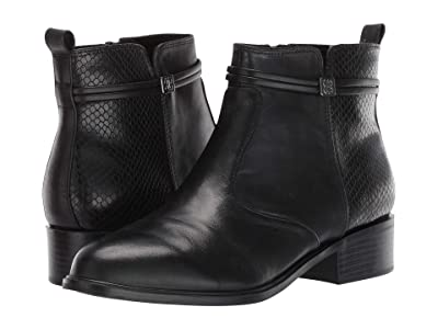 Bandolino Danny (Black Leather) Women