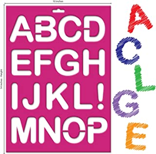 Best 2 inch letter stencils to print Reviews