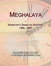 Meghalaya: Webster's Timeline History, 1936 - 2007