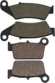Cyleto Front and Rear Brake Pads for SUZUKI RM-Z 250 RMZ 250 2004 2005 2006 2007 2008 2009 2010 2011 2012 2013 2014 2015 2016