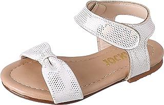 Al Baraem 1CM Flat Casual Shoe For CHILDREN, GOLD GLITTER, 20 EU