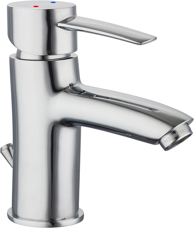 Attraktiva für Armatur Chrom - Waschtischarmatur das Bad 19095 HZ-43