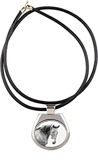 American Saddlebred, Collection of Necklaces with Image of a Horse, Sublimation