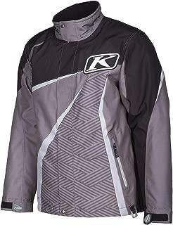 Klim Kaos Parka Men's Ski Snowmobile Jacket - Gray / 2X-Large