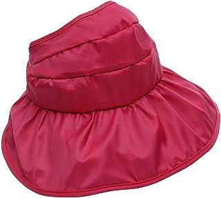 913f60ba4857a lulufan Girl Sun Hat-Kids Sun Protection Beach Hat-Wide Brim Reversible Cap