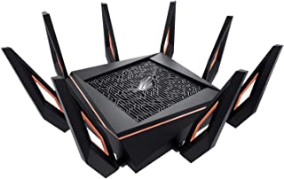 Asus router Rapture gaming router 1.8 GHz QC CPU Wifi 6 AX TriBand