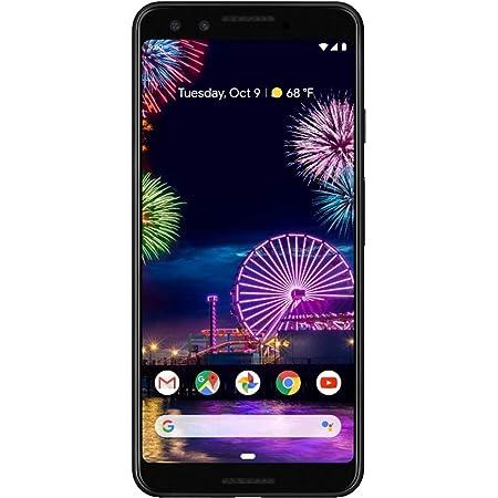 Google Pixel 3 64GB Unlocked GSM & CDMA 4G LTE - Just Black (Renewed)