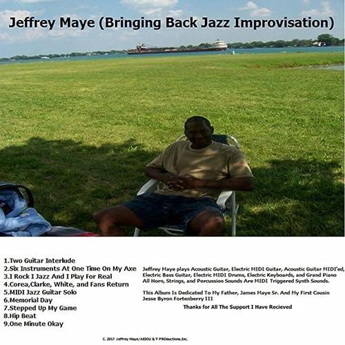 Midi Jazz Guitar Solo by Jeffrey Maye on Amazon Music - Amazon com