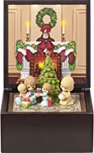 Precious Moments Heirloom Family Christmas Deluxe LED Lighted Music Box Multi-Piece Set 171106
