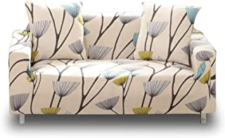 Lamberia Printed Sofa Cover Stretch Couch Cover Sofa Slipcovers for Couches and Loveseats with Two Free Pillow Case (Dande...