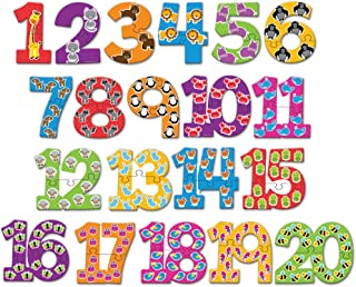 Learning Resources Number Puzzle Cards, 40 Pieces