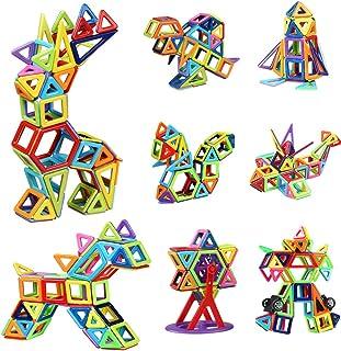 Innoo Tech Magnetic Building Blocks | 108 Pcs Magnet Blocks Set | Kids Toys Magnetic Toys Construction Stacking Kits | Bui...