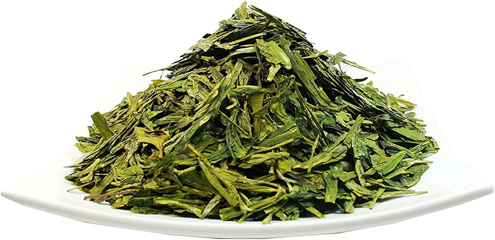 Organic Dragon Well A Classic Chinese Green Tea Distinguished By Its Color Shape And Taste 4 OZ Bag