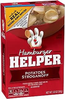 Betty Crocker Hamburger Helper, Potatoes Stroganoff Hamburger Helper, 5 Oz Box (Pack of 12)