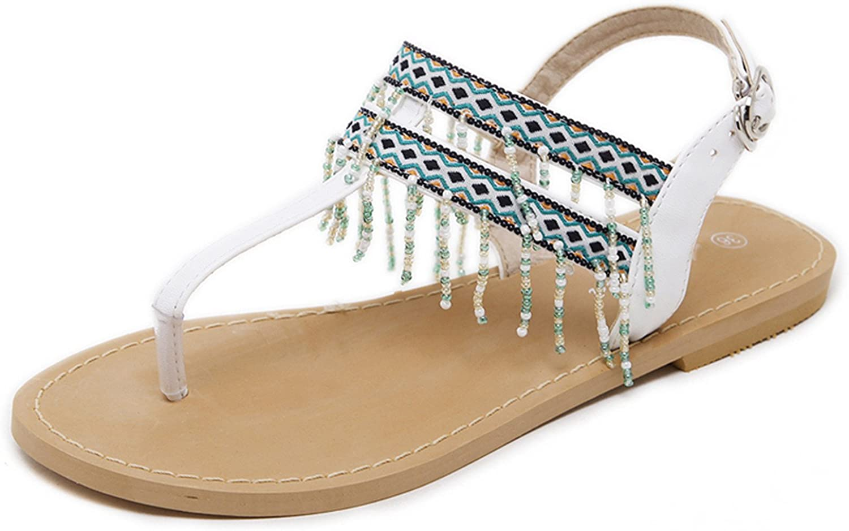 Nerefy Summer Sandals Women Fashion Beading Flip Flops Platform Flats shoes Woman Size 35-40