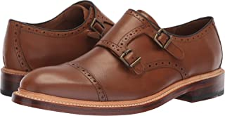 Bostonian Women's Somerville Mix Monk-Strap Loafer, Cognac Leather