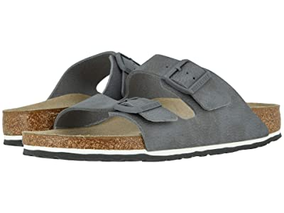Birkenstock Arizona (Desert Soil Gray Birko-Flortm) Men
