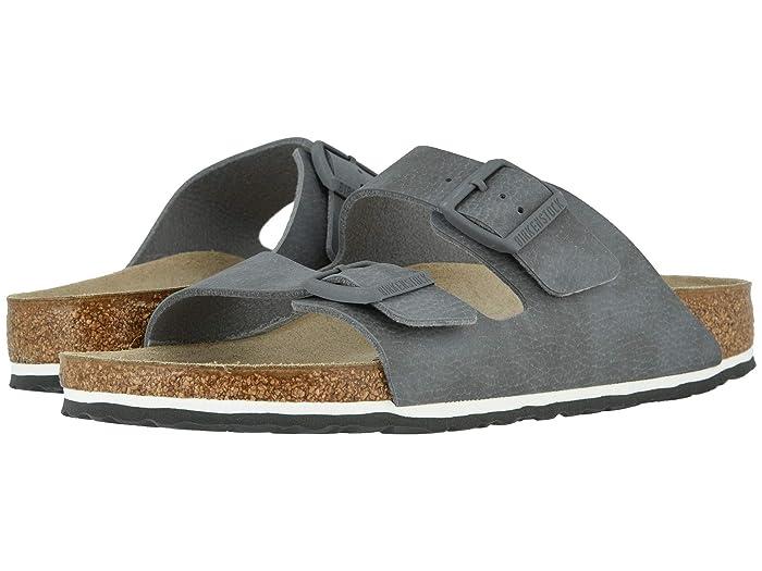 Birkenstock  Arizona (Desert Soil Gray Birko-Flortm) Mens Shoes