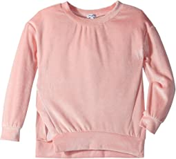 Velour Sweatshirt (Big Kids)