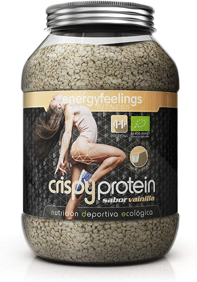 Energy Feelings Crispy Protein Vainilla ecológico | proteina 40%