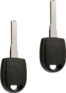 Transponder Key fits VW Audi (BHU66T6, Set of 2)