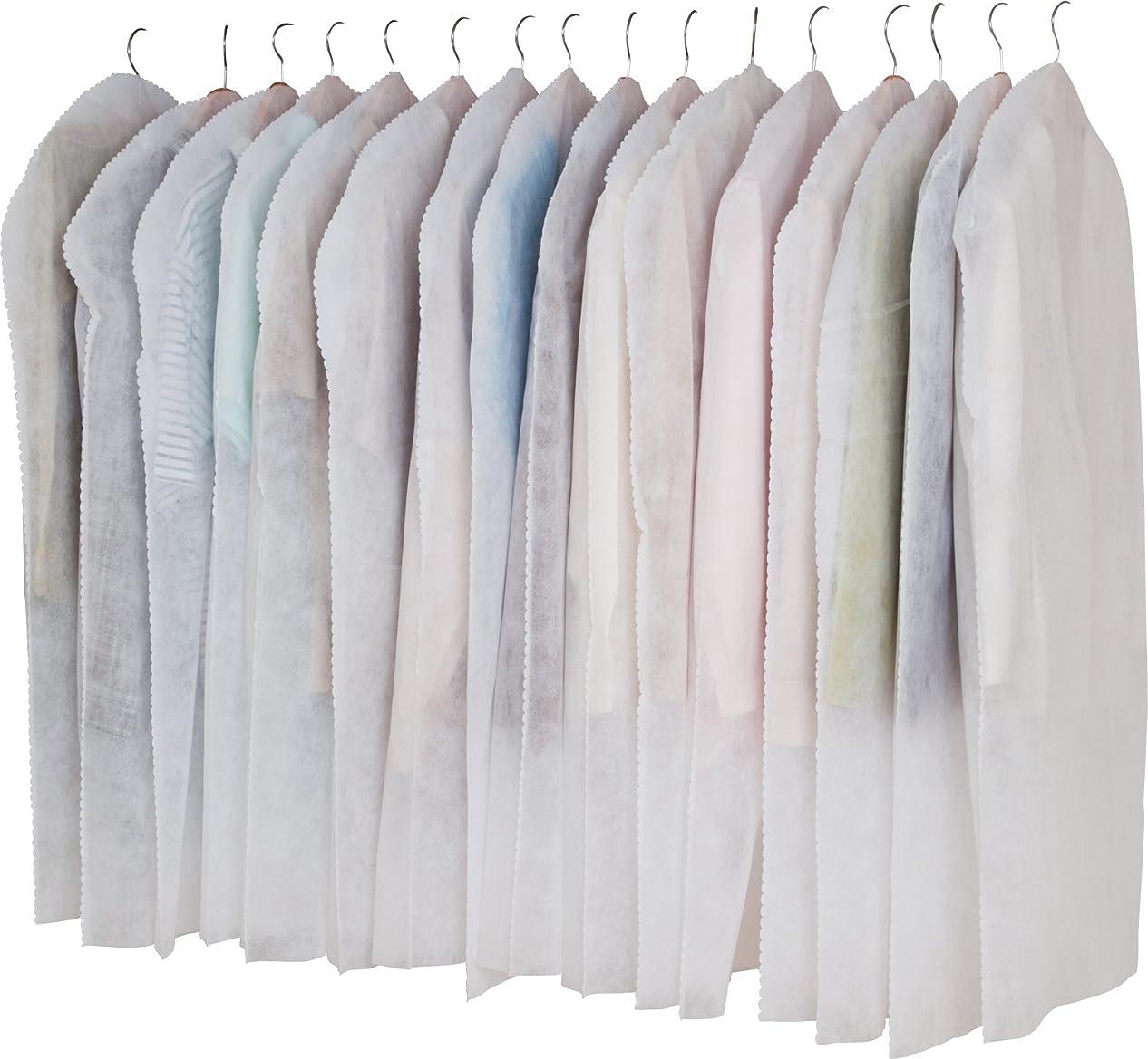 引用カバレッジチャレンジアストロ 洋服カバー 16枚 両面不織布 フリル調 605-01