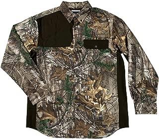 Columbia Mens Mossy Oak Biggs Landing BNG Long Sleeve Realtree Camo Shirt