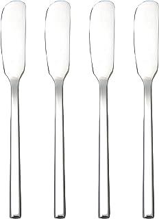 Esparcidor de cuchillos de mantequilla IMEEA de acero inoxidable para helado y queso, tarta, hogar, cocina, desayuno