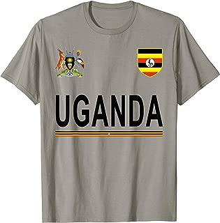 Uganda Cheer Jersey 2017 - Football Ugandan T-Shirt