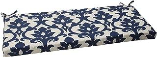 Pillow Perfect Indoor/Outdoor Bosco Bench Cushion, Navy