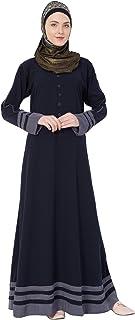 Simple Abaya- Navy Blue