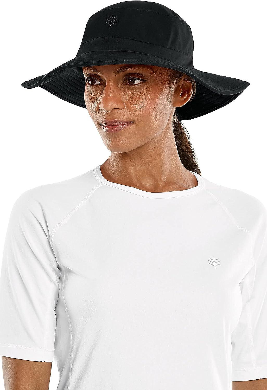 Coolibar UPF 50+ Women's Brighton Chlorine Resistant Bucket Hat - Sun Protective