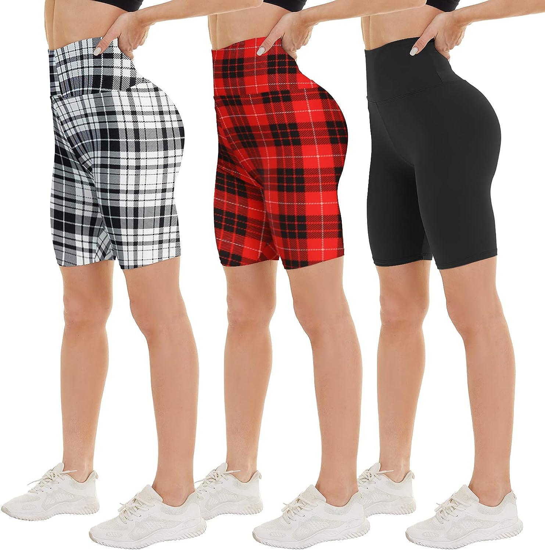 Store NexiEpoch 3 Pack Biker Shorts for Women - Co Tummy 8