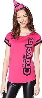 Women's Razzmatazz Pink Crayola Crayon Costume Kit