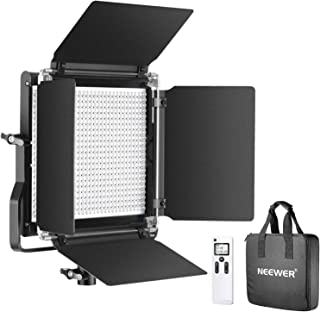 Neewer Advanced 2.4G 660 LED Video Light, Dimmable Bi-Color LED Panel with LCD Screen and 2.4G Wireless Remote for Portrai...