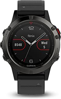 Garmin Fenix 5 Sapphire Watch Black With Black Band, One Size [並行輸入品]