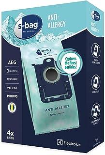 Electrolux E206S S-bag Hygiene Anti-Allergy Dammsugarpåsar, 4 påsar