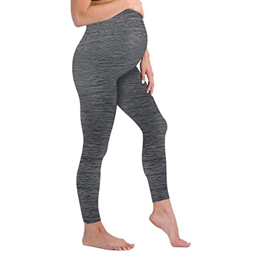 7dfda232bd46b3 Touch Me Maternity Leggings Black Navy Grey Soft Solid Stretch Seamless  Tights One Size Fits All