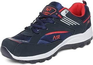 Hytech Mens air Blue red air Running Sports Shoes