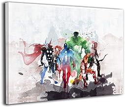 Amazon Com Marvel Canvas Wall Art