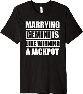 Funny Gemini Horoscope Marrying A Gemini  Premium T-Shirt