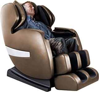 Massage Chair by KTN, Zero Gravity Massage Chair, Shiatsu Massage Chair with S-Track, 3D Massage Chairs Full Body and Recliner with Heat, Vibrating & Foot Roller (Coffee)