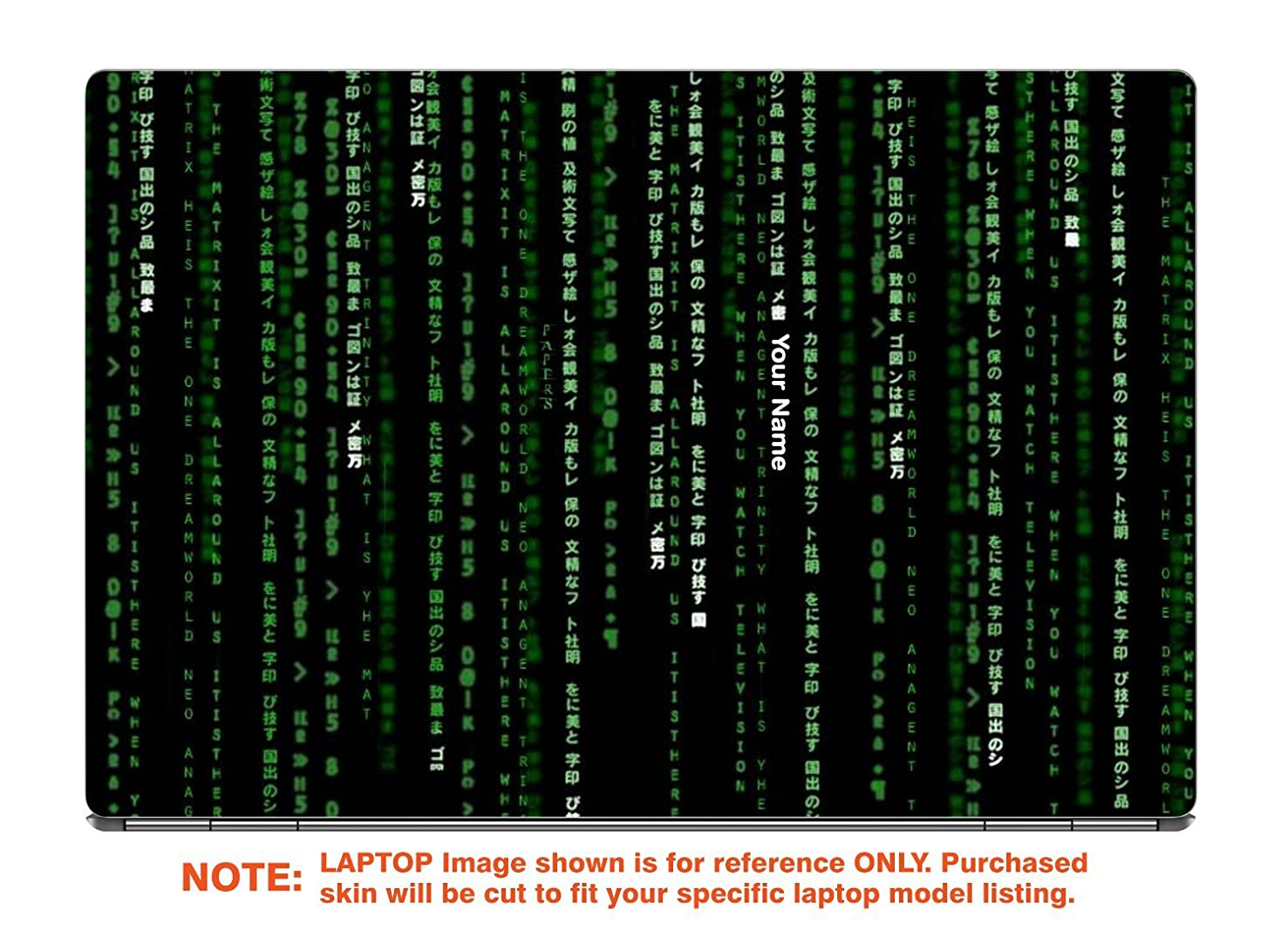 decalrus - Protective decal for the Samsung Notebook 7 Spin 2-in-1 NP730QAA (13.3