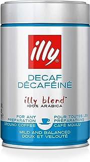 Illy Ground Decaffeinated Coffee - Medium Roast - 250g
