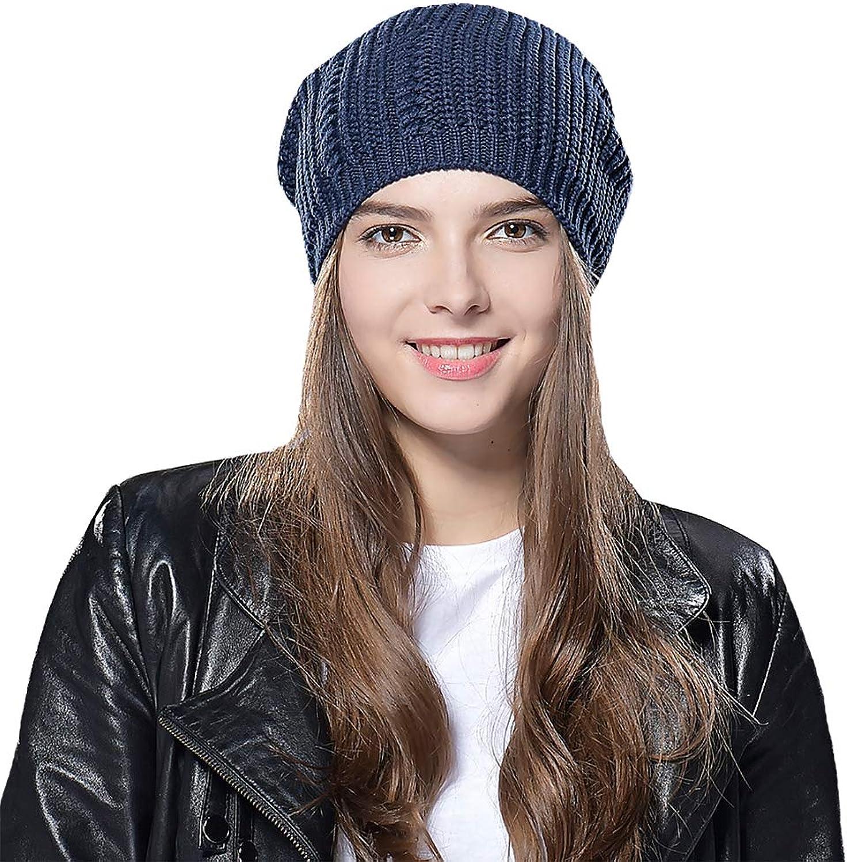 ab532967 Taylormia Taylormia Taylormia Winter Warm Slouchy Wool Solid Knit Beanie Hat  Ski Cap for Women & Men 62f5a7
